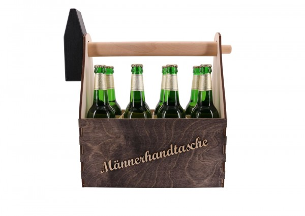 Männerhandtasche für 8 Flaschen